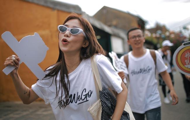 Biểu cảm lầy lội trên từng cây số của Salim, Cao Thiên Trang khi tham gia game show thực tế