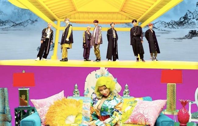 """Không báo trước, BTS đánh úp fan bằng MV """"IDOL"""" phiên bản kết hợp với Nicki Minaj"""