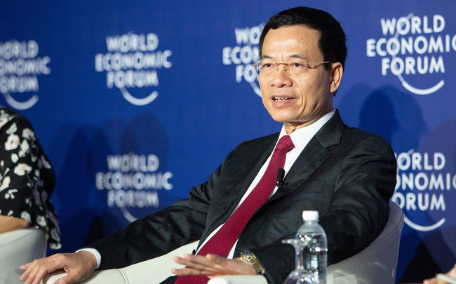Quyền Bộ trưởng Bộ TTTT Nguyễn Mạnh Hùng: Những nước như Việt Nam sẽ đi nhanh hơn trong CMCN 4.0