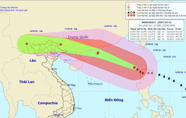 Công điện của Thủ tướng Chính phủ: Ứng phó khẩn cấp bão số 6 và mưa lũ