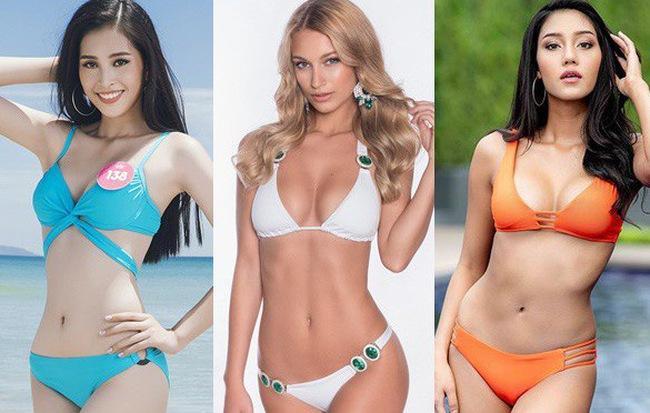 Muốn chiến thắng tại Hoa hậu Thế giới, Trần Tiểu Vy phải vượt qua các mỹ nhân nóng bỏng này