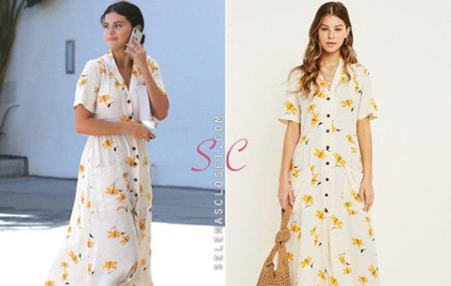 """Tuyên bố ở ẩn, Selena Gomez vẫn khiến mẫu váy hoa này """"cháy hàng"""" chỉ sau vài nốt nhạc"""