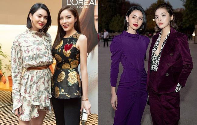 """Trước thềm Paris Fashion Week, Kỳ Duyên khoe street style chất lừ, chẳng thua kém """"ma nữ"""" Mai Davika"""