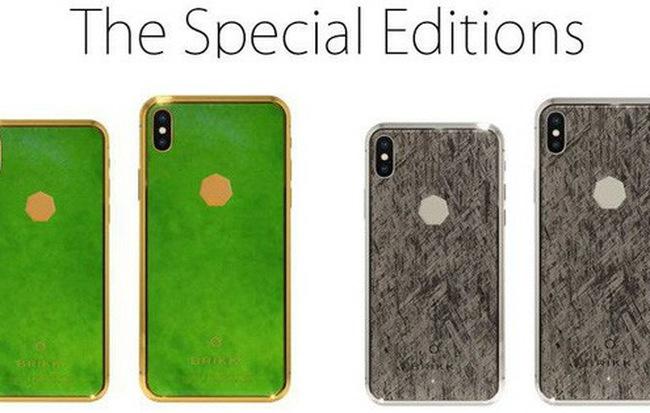 """""""Viêm màng túi"""" với iPhone XS làm bằng đá ngoài hành tinh, giá gần 70 tỷ đồng"""