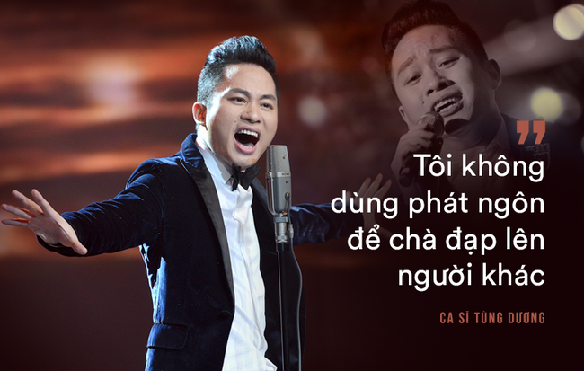 """Tùng Dương: Bắt tôi chọn sống hoặc chết thì tôi mới hát """"Ngắm hoa lệ rơi"""""""