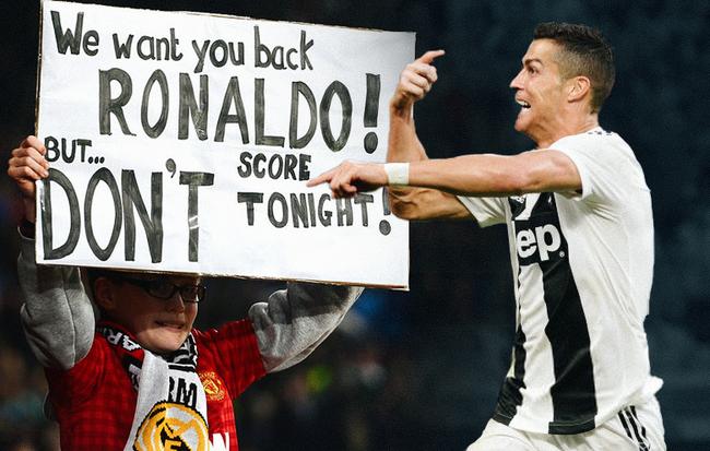Đừng lo, bởi Ronaldo sẽ đem cả El Clasico lẫn đẳng cấp về lại Old Trafford