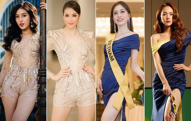 """Câu chuyện lặp đi lặp lại đến phát nhàm: Vì sao người đẹp Việt cứ đi thi quốc tế là lại """"đụng hàng"""" bét nhè?"""