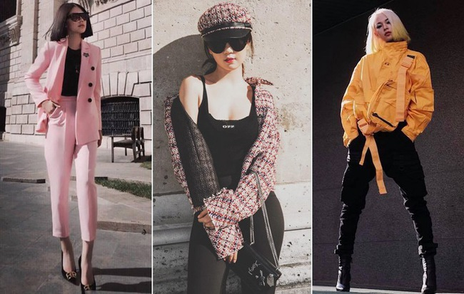"""Tỏ vẻ cool ngầu và đắp đầy hàng hiệu, Ngọc Trinh vẫn tự nhận mình không thể """"2 fashion"""" như loạt sao tuần qua"""