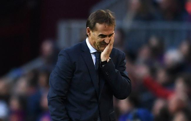 """Chính thức: Real Madrid sa thải """"thảm họa HLV"""" Lopetegui"""